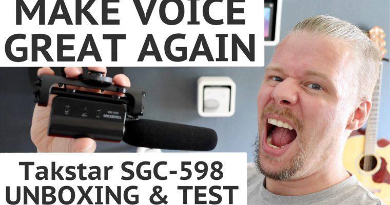 Unboxing – Shotgun Mikrofon Takstar SGC-598
